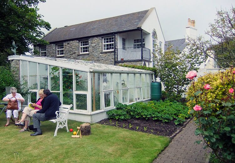 Lean-to Greenhouse - The Port St Mary Allotment and the Hidden Gardens of Castletown