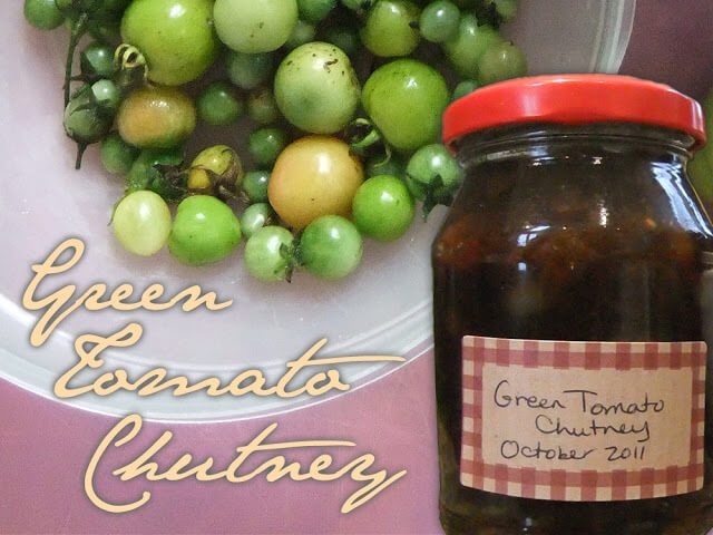 Easy Green Tomato Chutney recipe