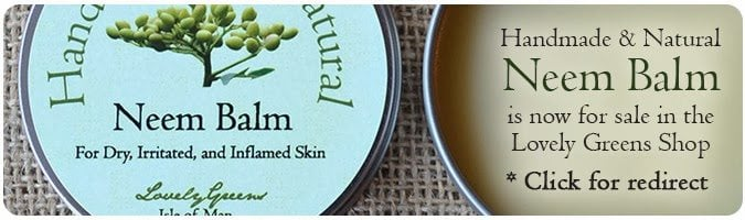 Healing Neem Balm from Lovely Greens - for Eczema and Psoriasis