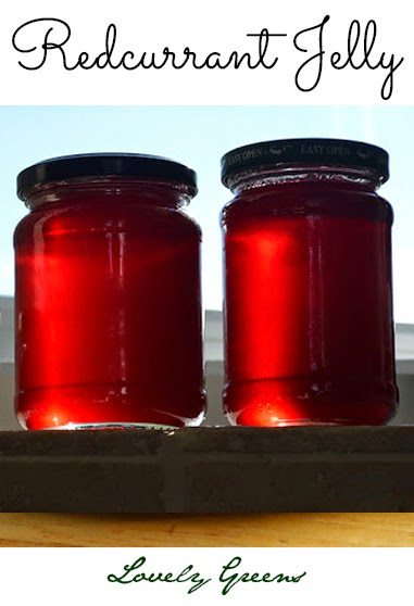 Recipe for making homemade Redcurrant Jelly #jelly