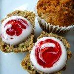 Strawberry & Rhubarb Muffin Recipe