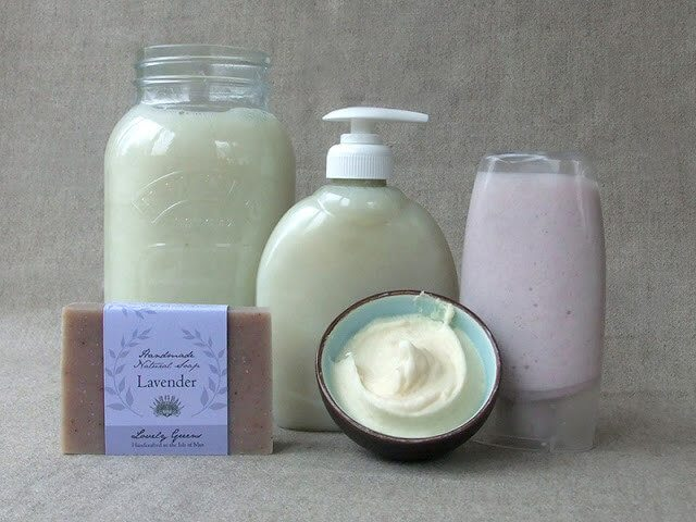 The easiest way to make liquid soap is by starting with a bar of soap. Here's how to do it, including creating three consistencies of natural liquid soap #soapmaking #naturalhome #soaprecipe