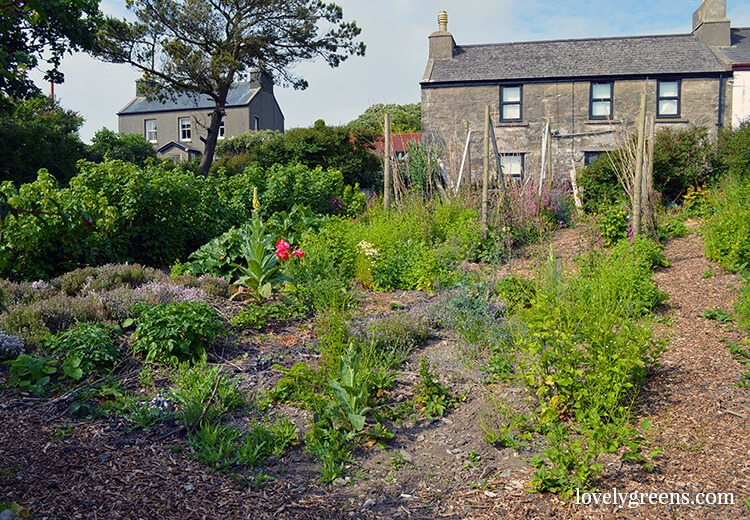 The Gardens of Cregneash on the Isle of Man