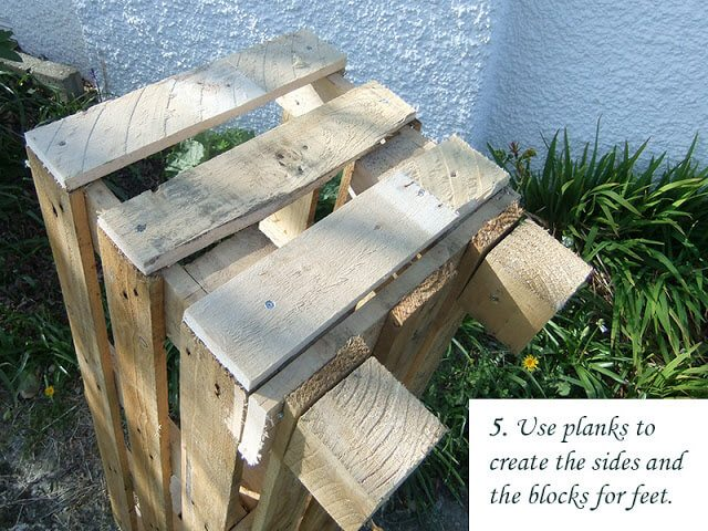 How to build a better Strawberry Pallet Planter. Grow strawberries on your deck or small garden #lovelygreens #growstrawberries #organicgarden