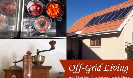 Have you ever wondered if you could live a comfortable and modern life without paying an electricity bill? Dani from Eco Footprint ~ South Africa shares how she and her family do it using power from solar ovens, solar panels, and hand-powered tools.