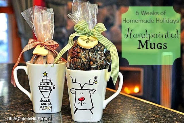 Crafty Christmas - Gift and decorations for a Handmade Holiday. Loads of classy ideas! #christmas