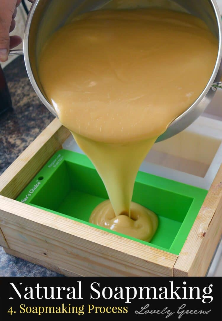 Natural Soapmaking for Beginners: the Cold-Process Soapmaking Method