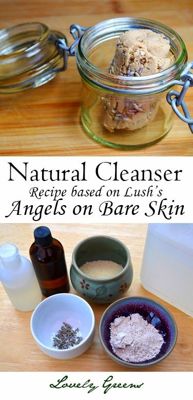 Soap-less Facial Cleanser recipe (LUSH knock off)