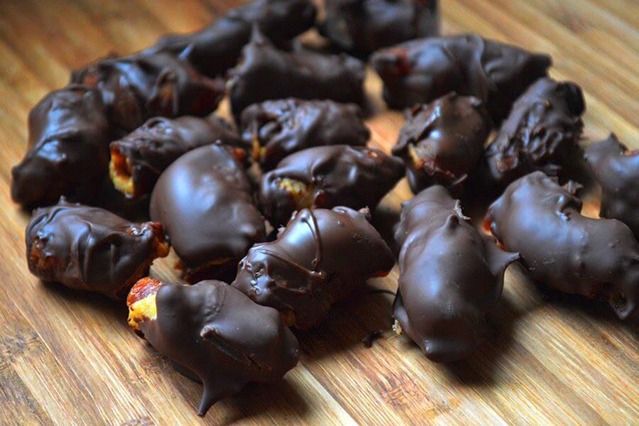 Dark Chocolate Bacon Truffles Recipe...that's right, BACON - Lovely ...