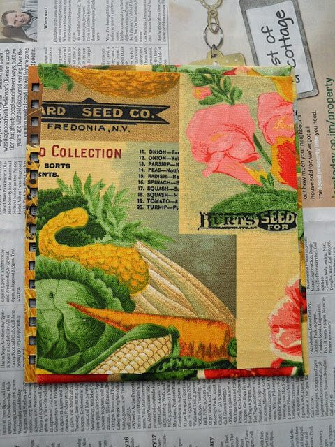 Transform a photo album into a seed book. This idea is a great handmade garden gift, or a fun way to store a small collection of seed packets