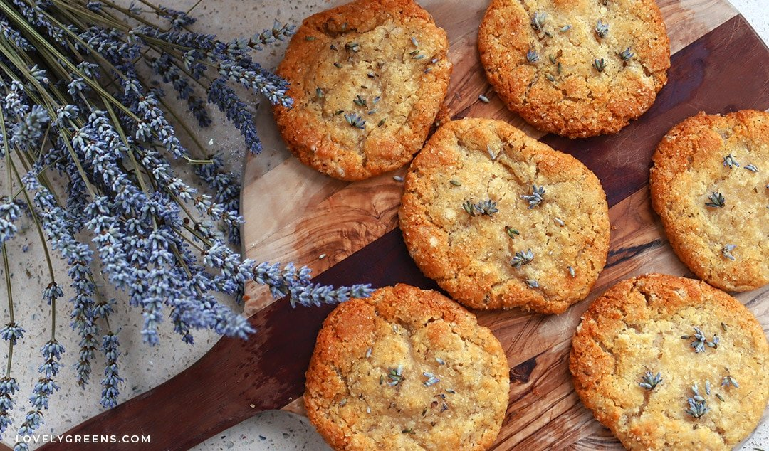 Easy Lavender Cookie Recipe with Sweet Honey