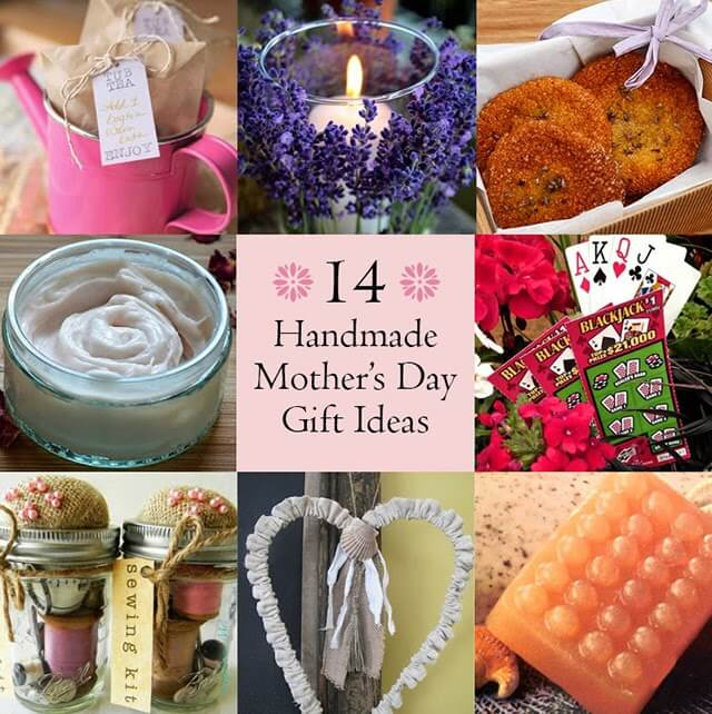 Handmade Mother's Day Gift Ideas • Lovely Greens