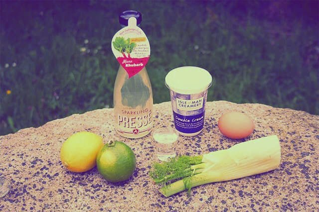 Rhubarb cocktail recipes from the Apple Orphanage