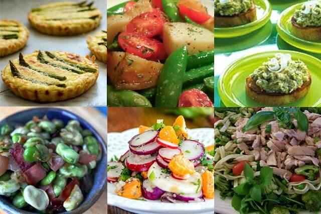 Springtime Garden-to-Plate Recipes using Seasonal Veg
