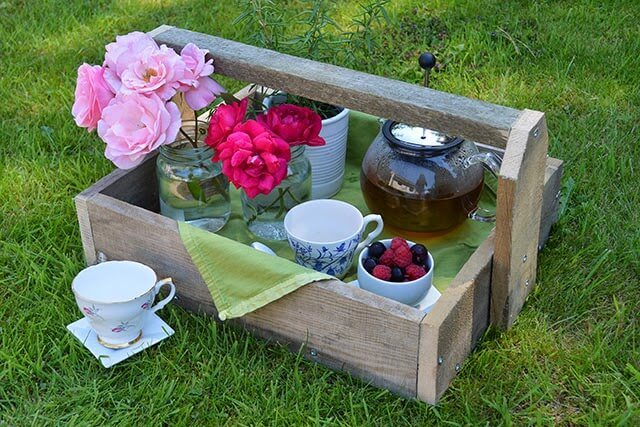 Pallet Project: use pallet wood to create simple trug-style containers