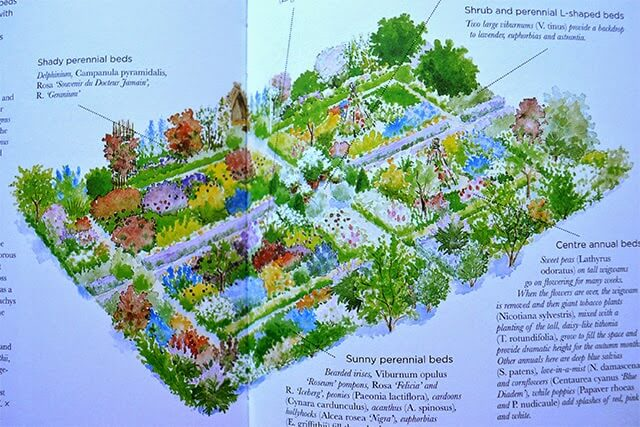 Cutting Garden Design Plans cut flower garden plans - best flowers and rose 2017