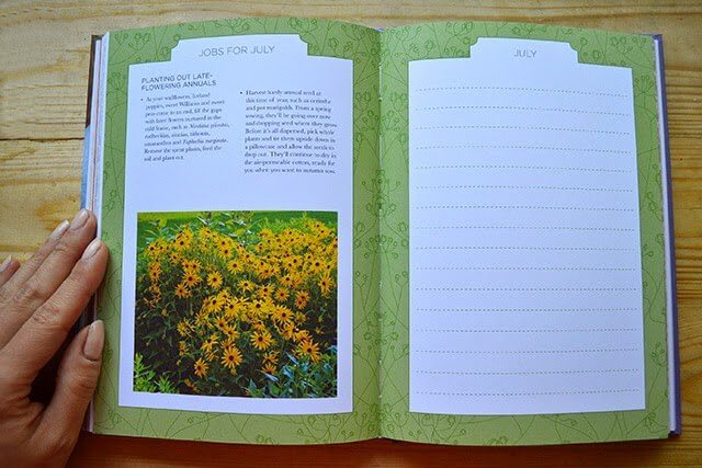 Sarah Raven's  The Cutting Garden Journal, A Year of Beautiful Cut Flowers