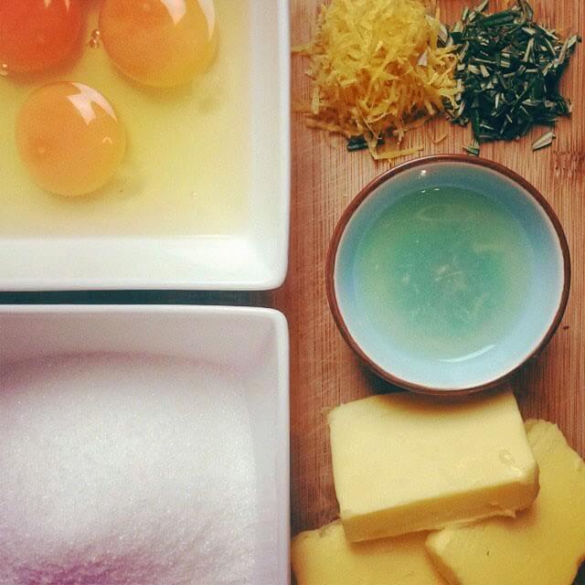 Lemon and Rosemary Drizzle Cake recipe #rosemaryrecipe #lemonrecipe