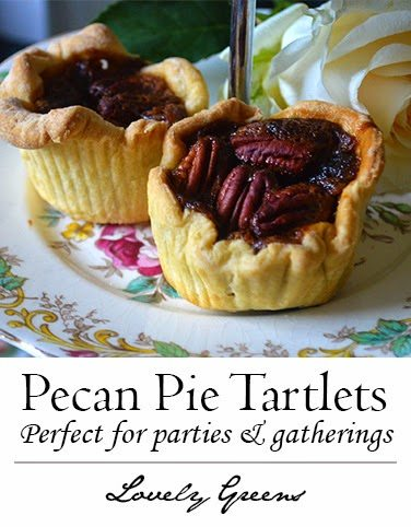Mini Pecan Pies are perfect for serving at parties and gatherings