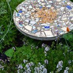 How to make a Bird Table with Broken Crockery