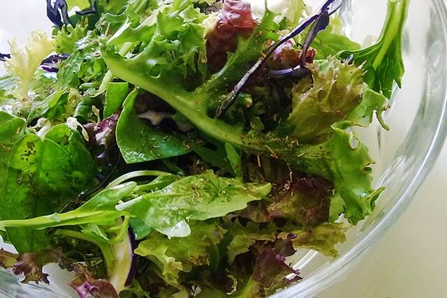 How to grow fresh salad greens lovely greens - Salads can grow pots eat fresh ...