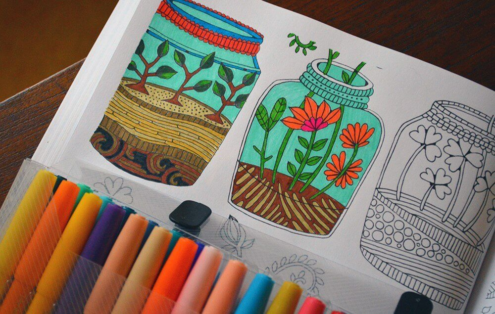 Coloring Books For Nature Lovers