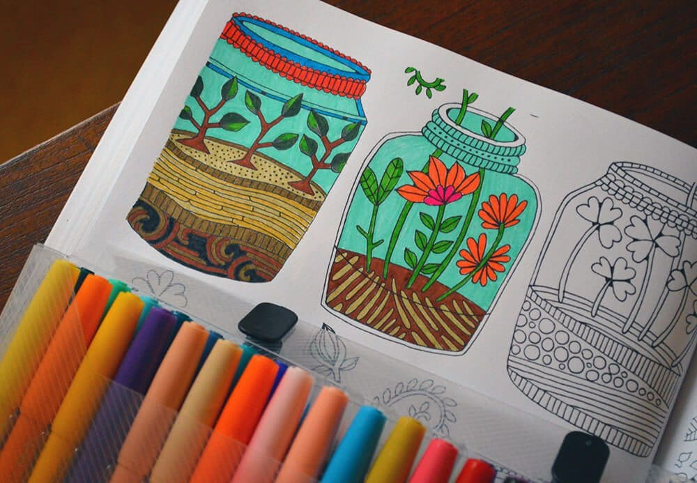 Coloring books aren't just for kids anymore. Here's some of our favorites for nature and gardening lovers