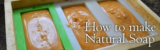 How to make Natural Soap Series by Lovely Greens