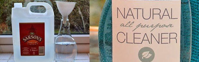 Recipe for an All Natural Kitchen and Surface Cleaner - by Lovely Greens