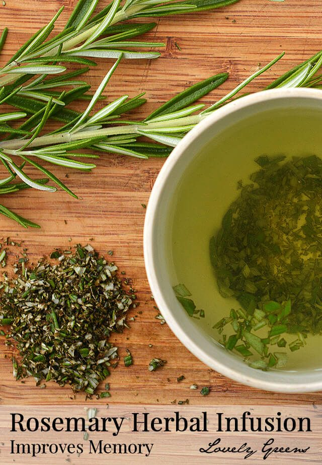 Rosemary Herbal Infusion and Unit 1 of the Introductory Herbal Course