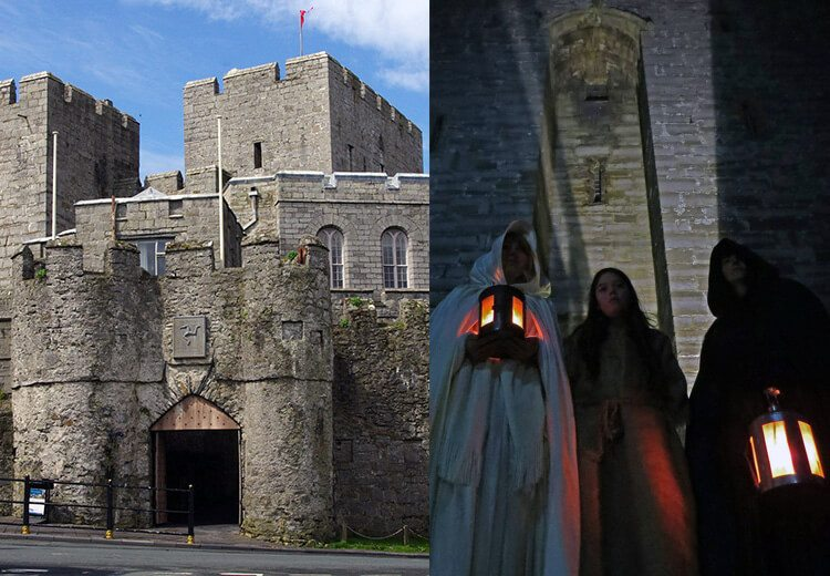 13 Spooky & Haunted places to visit on the Isle of Man: The ghosts of Castle Rushen