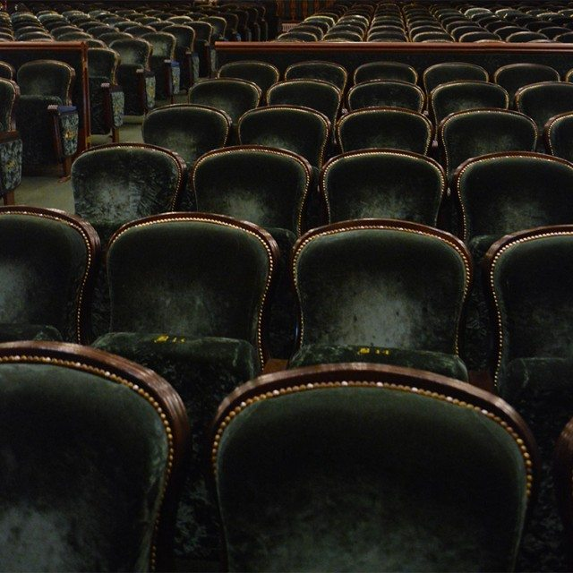 13 Spooky & Haunted places to visit on the Isle of Man: Gaiety Theatre Seat B14