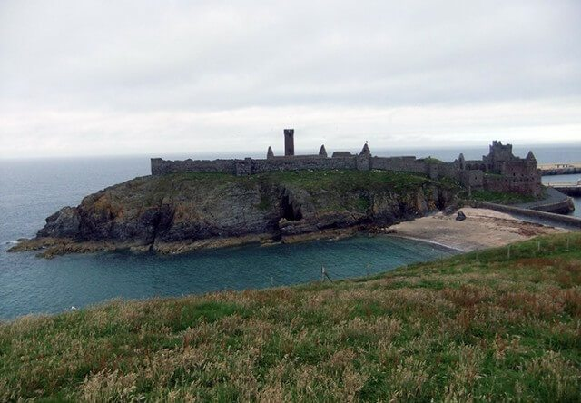 13 Spooky & Haunted places to visit on the Isle of Man: The Moddey Dhoo of Peel Castle