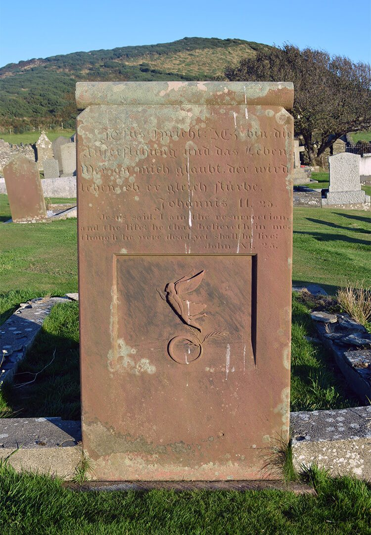 13 Spooky & Haunted places to visit on the Isle of Man: The Prussian Sailors Grave