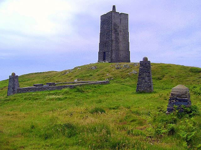 15 Quirky & unusual places to visit on the Isle of Man. Includes Magnetic Hill, the Old Fairy Bridge, Wild Wallabies, and Corrin's Tower