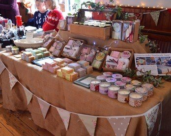 A Lovely Greens Christmas - handmade bath and beauty products from the Isle of Man