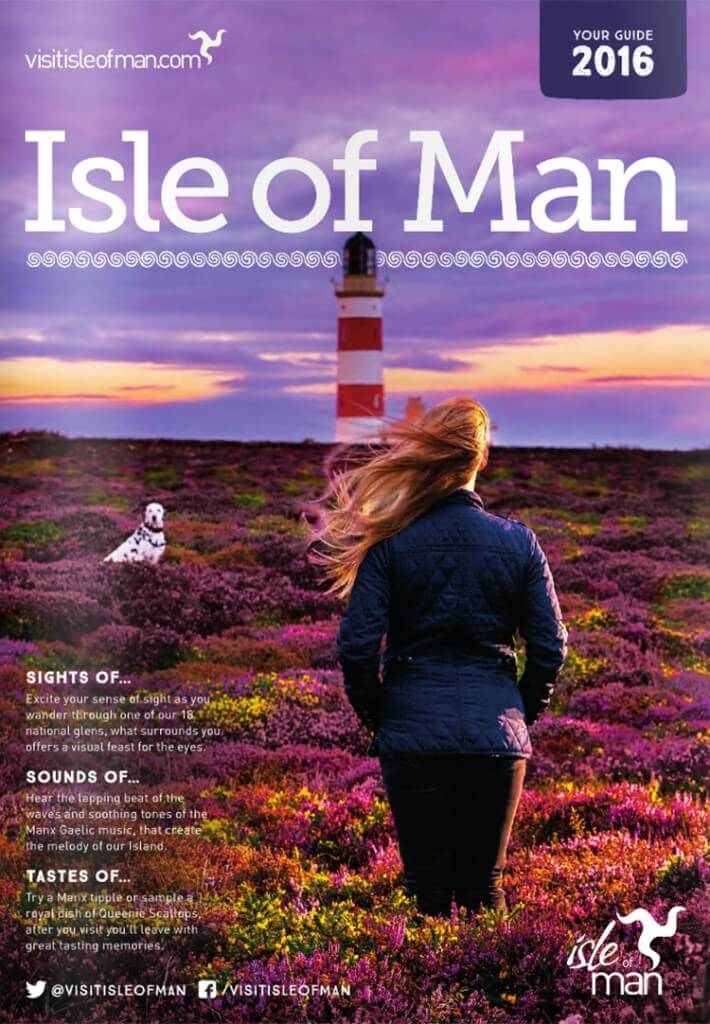 I'm in the Isle of Man Tourism Campaign