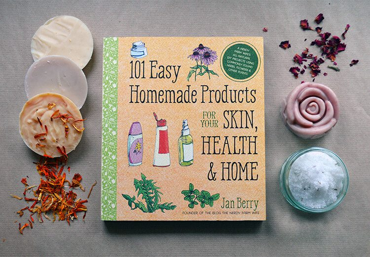 101 Easy Homemade Products for your Skin, Health, & Home
