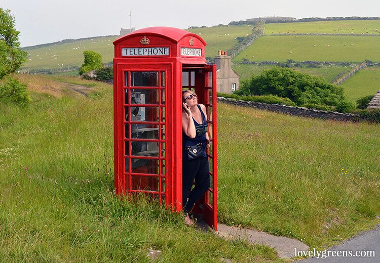 Unique weekend Itinerary for the Isle of Man: 14 ideas including making a phone call from the Cregneash phone box