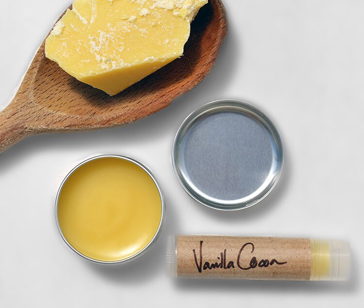 Vanilla & Cocoa Butter Lip Balm Recipe