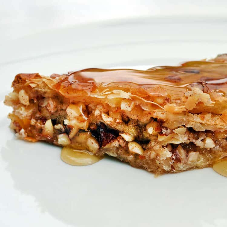 Honey & Almond Baklava Recipe