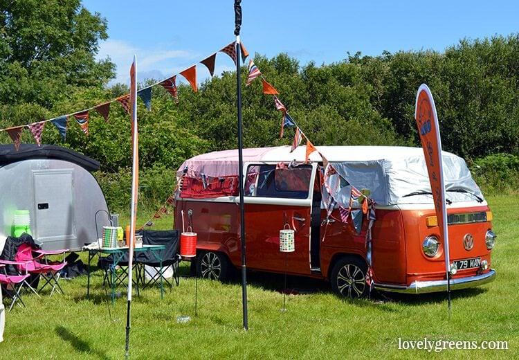 Dark Horse Music & Arts Festival 2016: Volkswagen camper