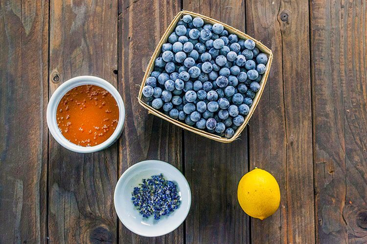 Recipe for Blueberry & Lavender Jam with sweet Honey