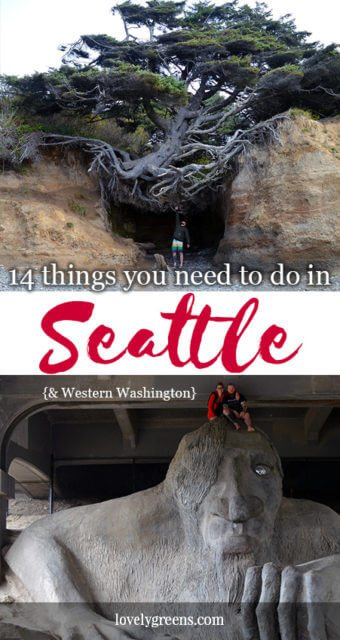 14 Earth-friendly things to do in Seattle {& western Washington}