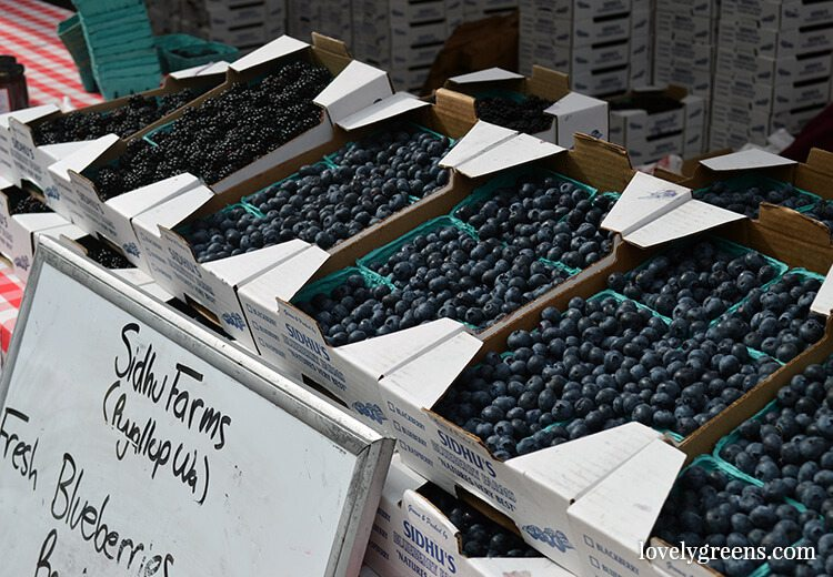 Blueberry season: Visiting the Ballard Farmers Market {locally grown food-porn ahead}