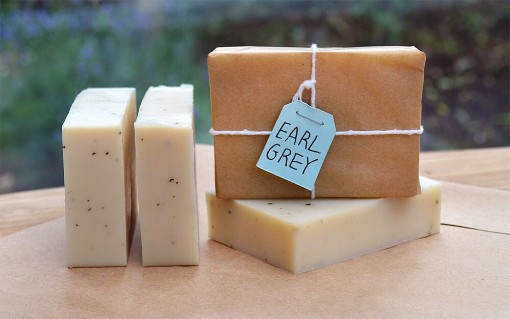 How to make handmade Bergamot + Earl Grey soap