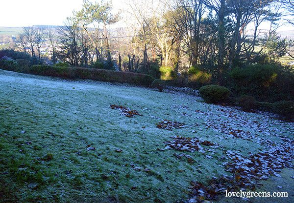 Frost on the Isle of Man