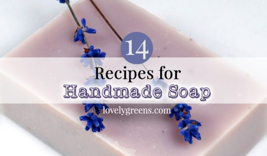 14 Recipes for Handmade Natural Soap