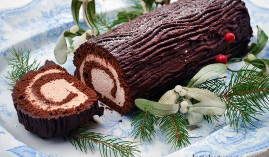 It took me 22 Years to make Bûche de Noël