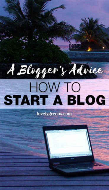 A blogger's advice on how to start a successful blog